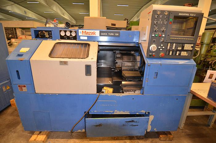 Used MS 51 - Mazak Quick Turn 15 N