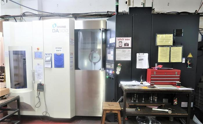 2018 MAKINO DA300 ULTRA PRECISION 5 AXIS CNC VERTICAL MACHINING CENTER