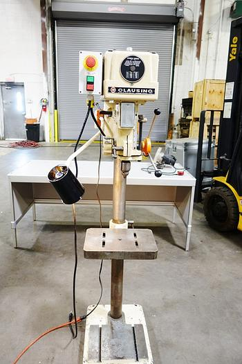 "Clausing 15"" Single Phase Drill Press 1642"