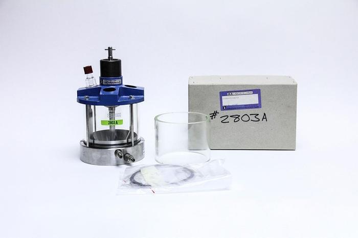 Used IKA Modular Laborreaktor LR 1000 Bioreactor + Accessories & Anchor Stirrer 2803A