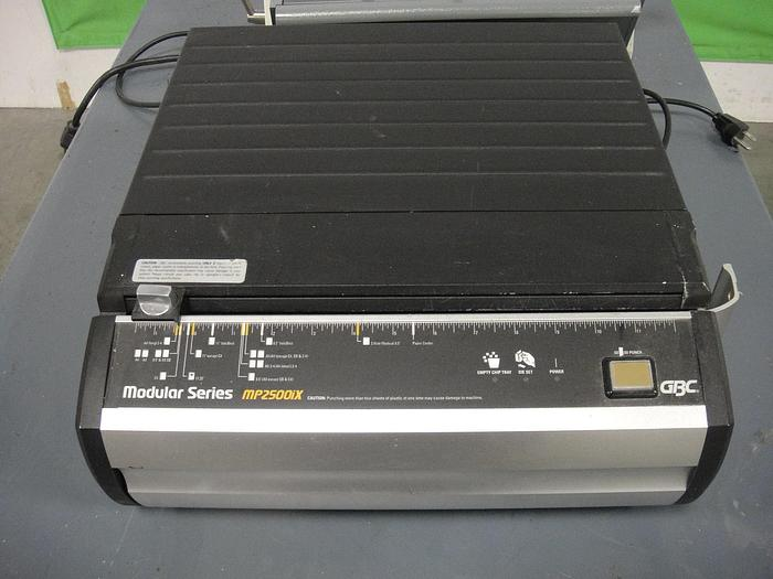 Used GBC MP2500ix Modular Interchangeable Die Punch