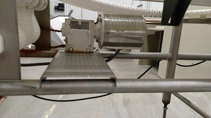20' LONG WASHDOWN INTERLOCK CONVEYOR WITH VARIABLE SPEED DRIVE