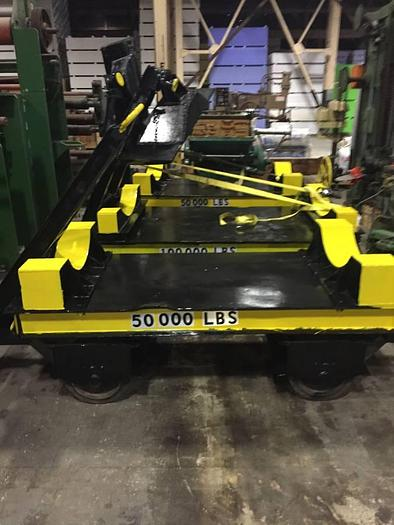 Used HEAVY INDUSTRIAL ROLL CART MID-STATES TROLLEY (THREE AVAILABLE)