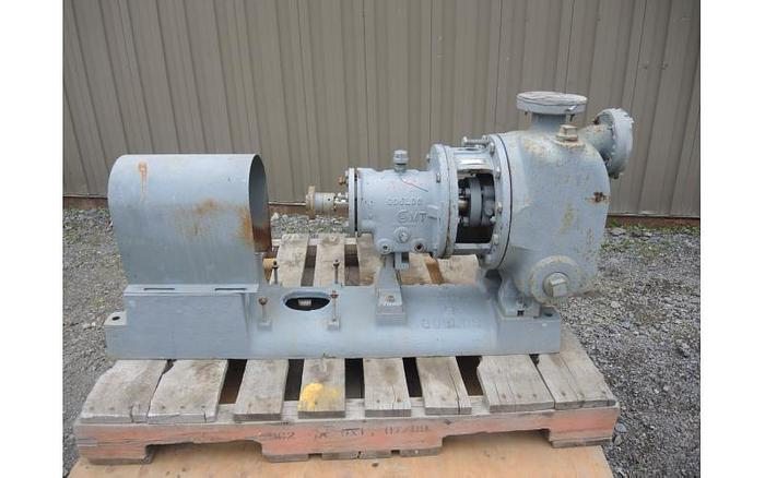 "Used USED CENTRIFUGAL PUMP, 2"" X 2"" INLET & OUTLET, 316 STAINLESS STEEL, SELF-PRIMING"