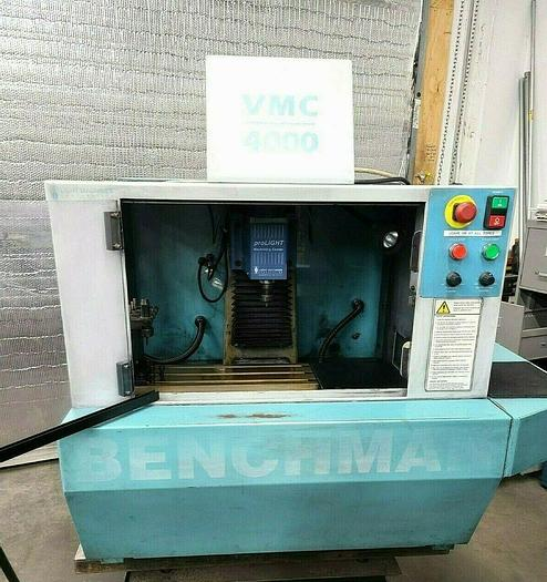 Used 1997 Benchman VMC 4000 CNC Milling Machine Needs Computer Controller