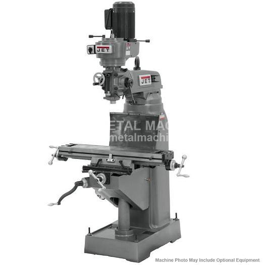 JET JVM-836-3 Step Pulley Milling Machine 230V 3Ph 690038
