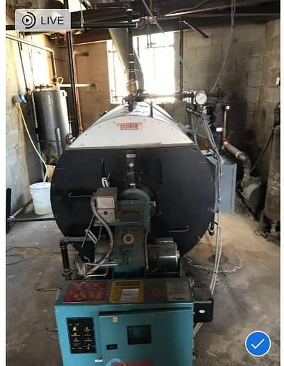 Used Latner Boiler  5. Mo 30 HP 150 PSI steam boiler