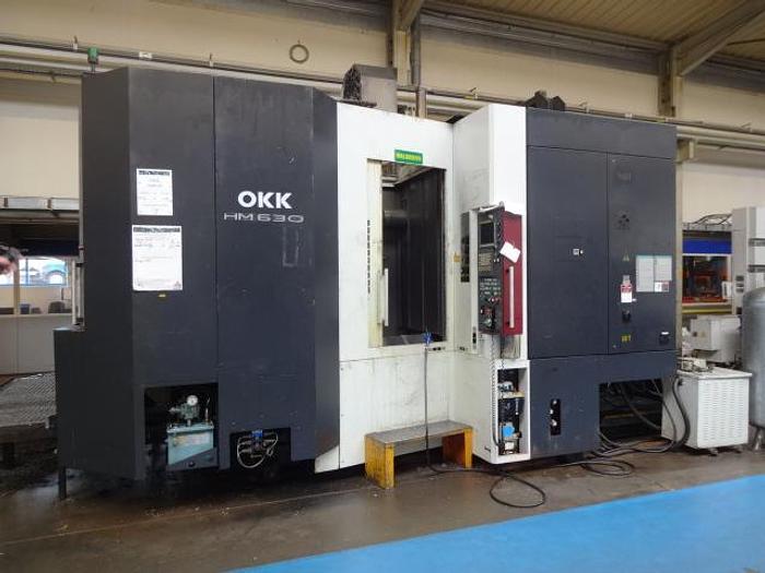 Utilisé Centre d'usinage horizontal Marque OKK type HM 630