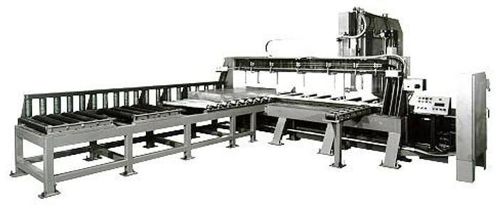 """24""""  x 144"""" Tannewitz Model 60-24MH Vertical Band Type Plate Saw; Mfg. 1995"""
