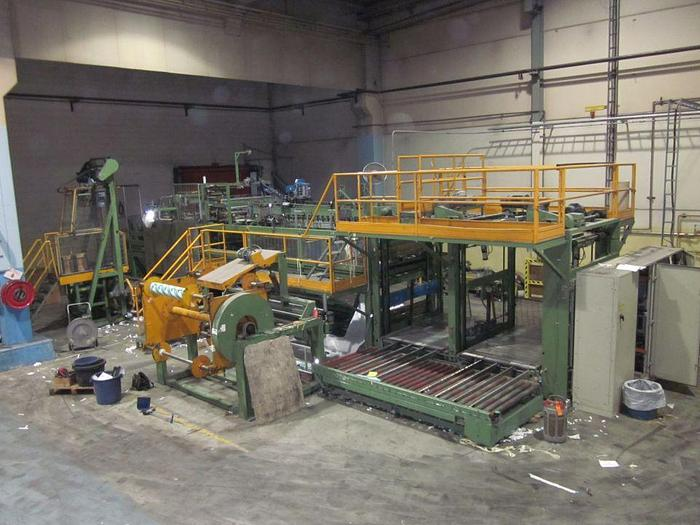 Used REAM WRAPPER WRAPMATIC SEMI-AUTOMATIC LINE 6-10 REAMS PER MINUTE