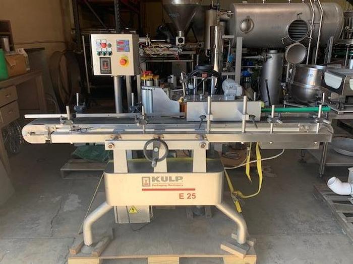Used Kulp Packaging Machinery Pressure Sensitive Labeler  E 25
