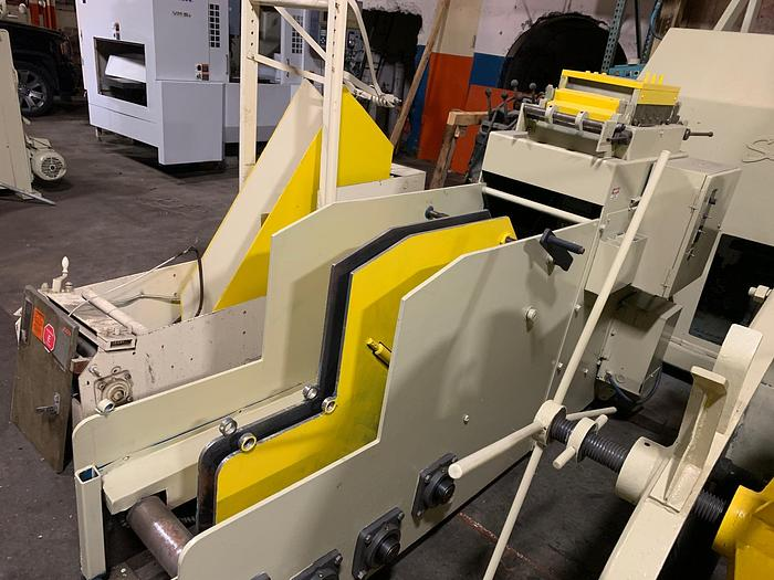"Used 10"" x 6,000 lbs. Jaco Powered Cradle Straightener"