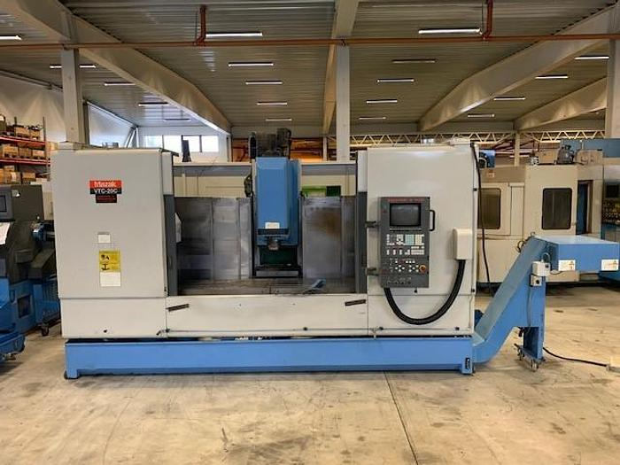 Used MV45 Mazak VTC  20 C
