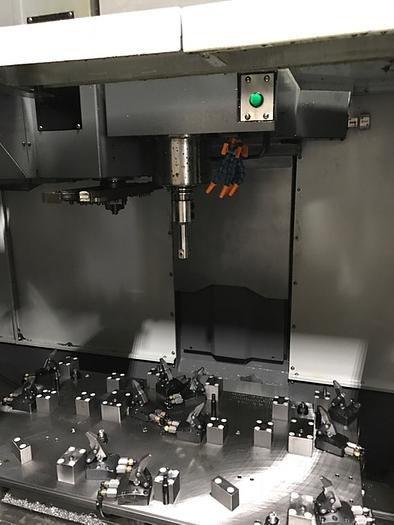 2012 SAMSUNG MCV50 CNC VERTICAL MACHINING CENTER