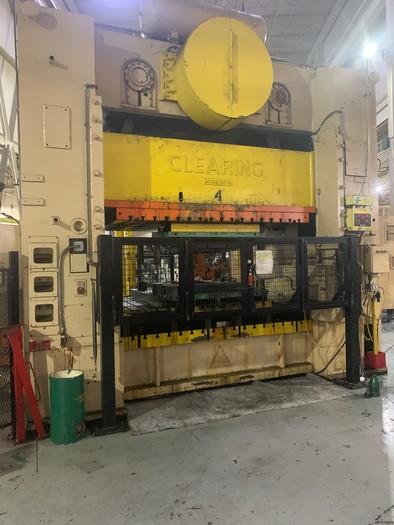 "300 ton Clearing 108""x72"" Mechanical Press"