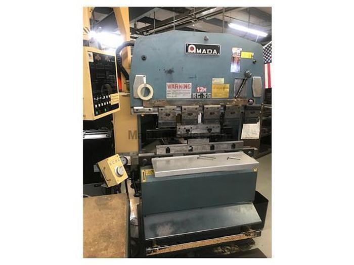 1983 38 Ton Amada RG-35 CNC Press Brake