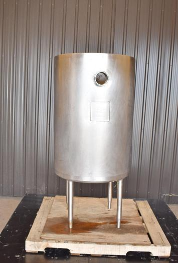 Used USED 80 GALLON TANK, 304 STAINLESS STEEL, INSULATED
