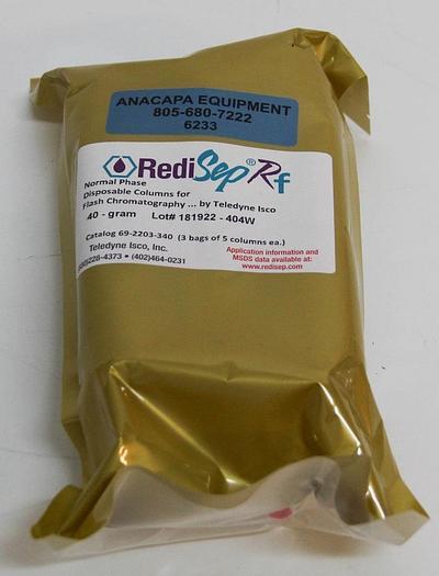 Teledyne RediSepRF Normal Phase 40g Flash Chromatography 2 Packs of 5 (6233)