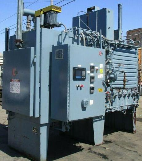 YEAR 2000 ABAR / IPSEN MODEL ADFC-5-E HEAT TREAT FURNACE 3' X 3' X 6' W/ QUENCH
