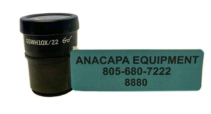 Used Olympus GSWH10X/22 Microscope Eyepiece Lens (8880)W