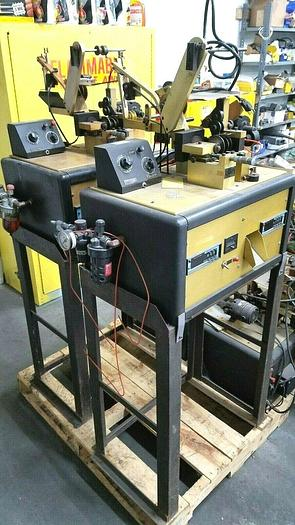 Used Crafford Automatic Chain Cutter Cutting ALL Four Machines for One Price!