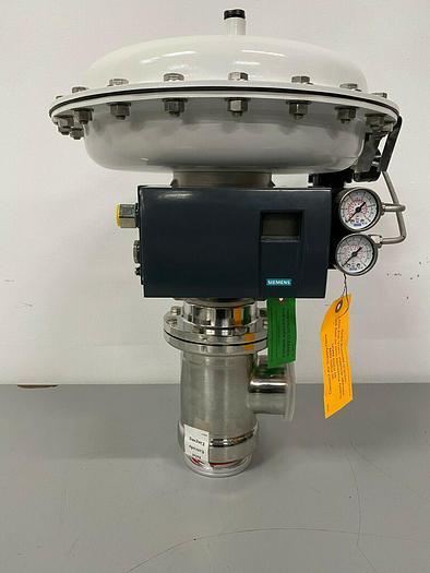 """Steriflow 978SP 3"""" Reverse Acting Actuator w/ Siemens PS2 HART Positioner"""