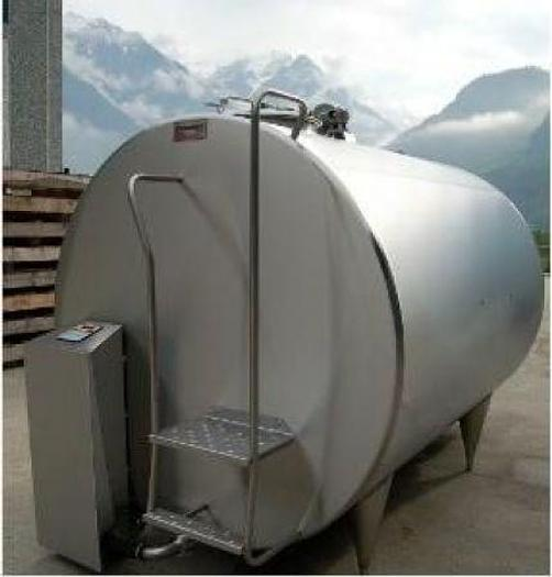 Refrigerated Milk Tank G9 8000 Litre