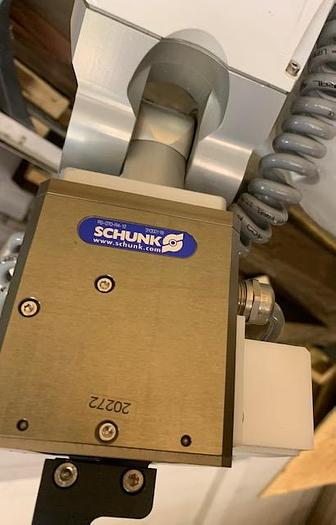 2010 STAUBLI TX40 ROBOT WITH SCHUNK GRIPPER AND CS8C CONTROLLER