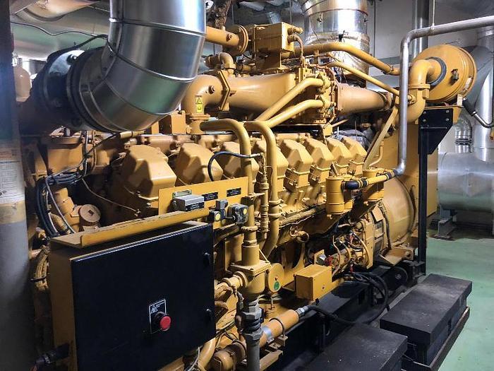 1140 kW Complete Gas Power Plant Caterpillar 3516G
