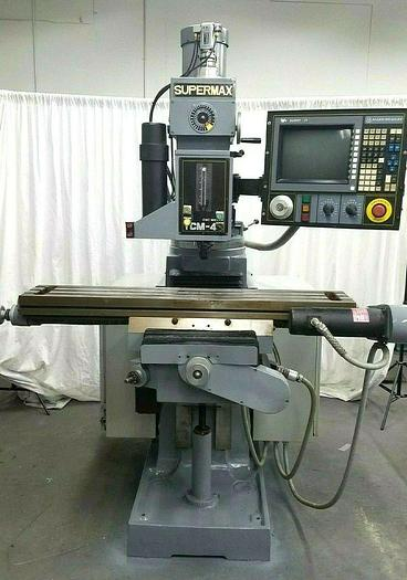 Used Supermax CNC 3 Axis Milling Machine with Allen Bradley IV Control with Tooling