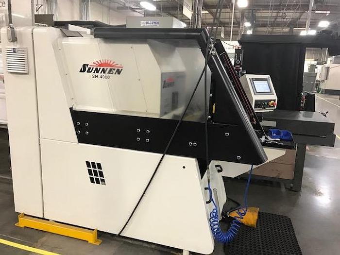 Used 2018 Sunnen SH-4000 Power Honing Machine Hone #5770