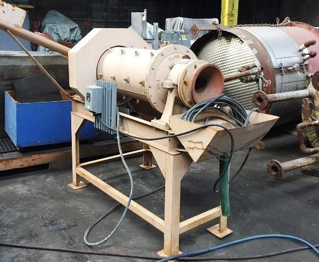 "16"" Hazen Research Rod Mill 3 HP. On Stand"