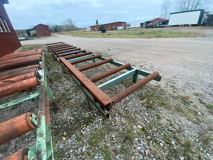 Used Roller conveyor, lumber packages