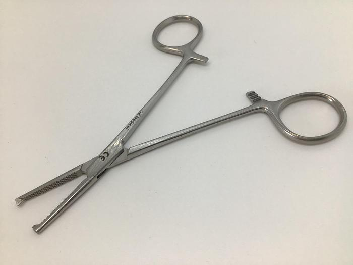 Forceps Artery Halsted Mosquito Straight 1 in 2 Teeth 125mm (5in)