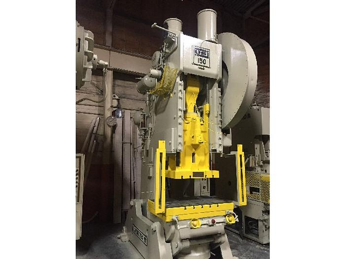 150 ton USI Clearing OBI Used Mechanical Press