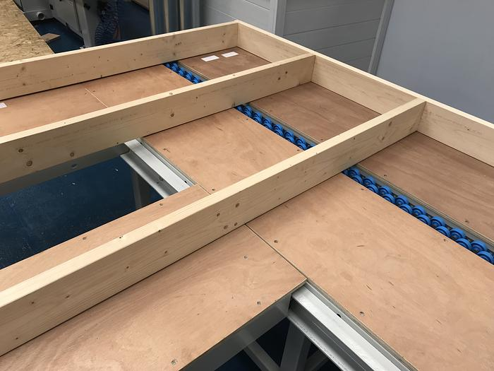 Modular Framing Tables