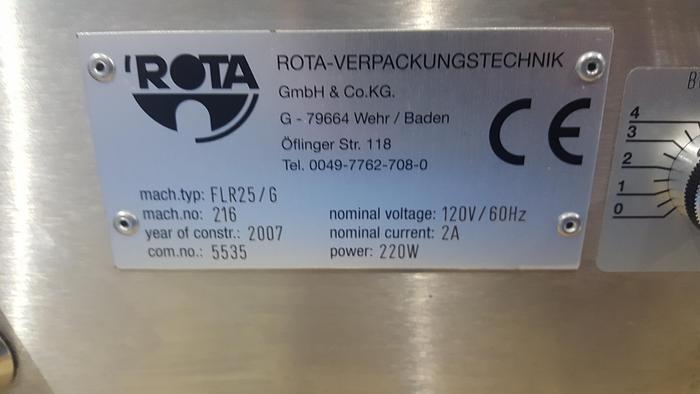 ROTA Vial Filler Plugger