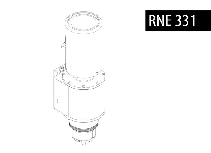 BALTEC BRACKER RNE 331 PNEUMATIC ORBITAL RIVITER