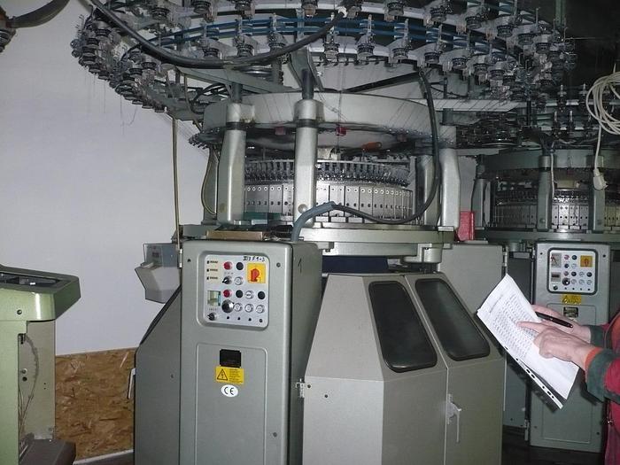 """Gebraucht Rundstrick Doppeljersey 8-Schloss TERROT  I3P-184 E18/30""""/84"""
