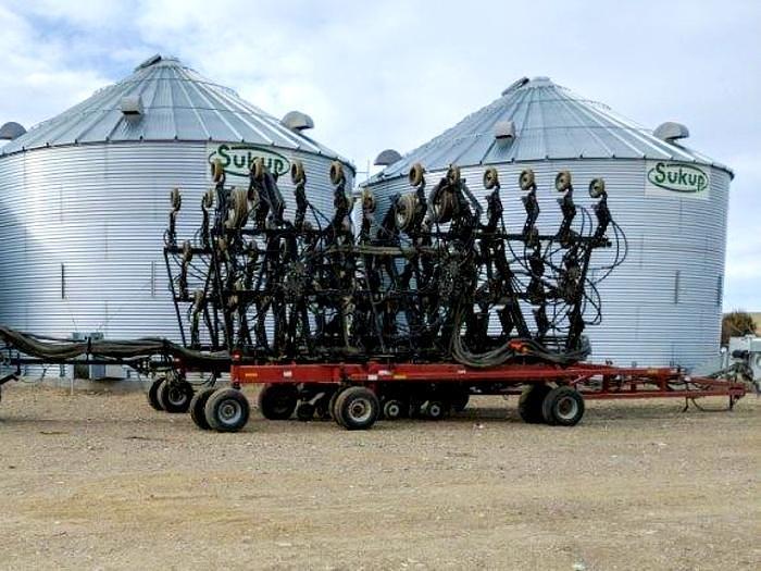 Used 60' Case Precision Hoe 800 Grain Drill