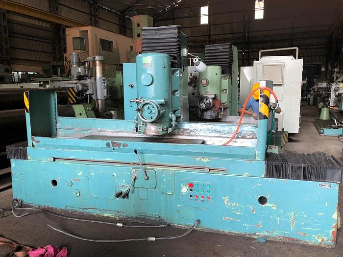 Used TOS BPV 1500 x 300 Rotary Surface Grinder - 1978