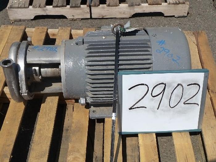 Used C218 Tri-Clover 3'' x 1 1/2'' Centrifugal Pump #2902