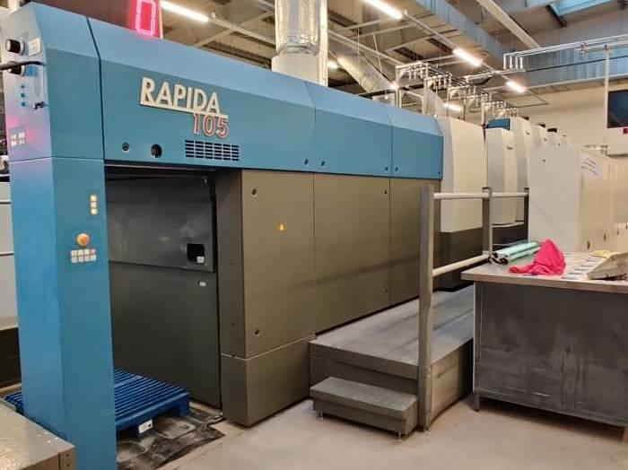 Used KBA Rapida 105-6 L CX ALV2