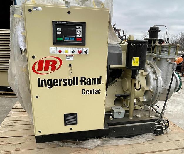 Used INGERSOL RAND CENTAC LOW PRESSURE HIGH VOLUME AIR COMPRESSOR - CENTRIFUGAL AIR COMPRESSOR