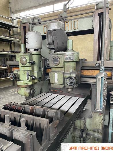 Used Comerio Plano Milling Machine 3m x 1.25m