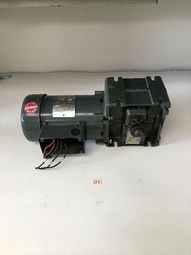 Used Wattsaver Motor C4T17FC12B W/ Torqube Gear Reducer 5638/B08N Warranty!