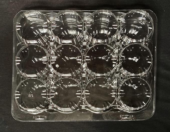 NEW, in the box -- Commercial Packaging: 12-Count Muffin See-Thru Clamshell