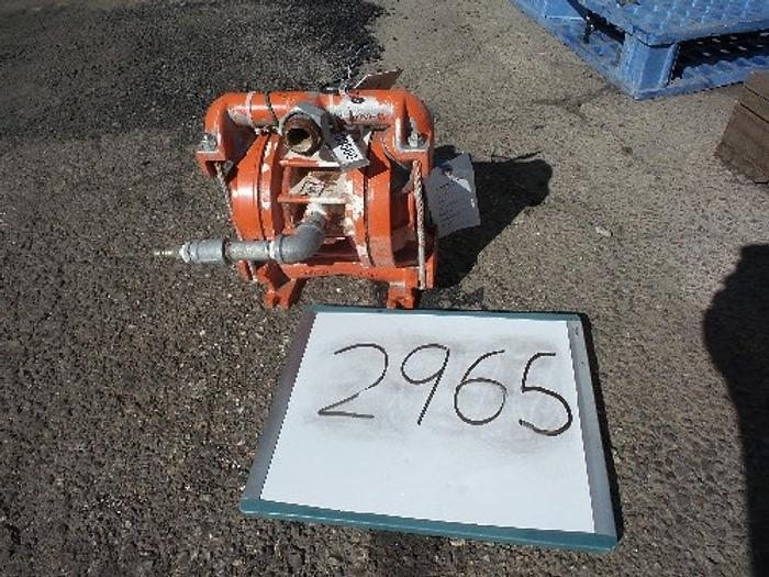 Used Wilden 1'' Double Diaphragm Air Operated Pump