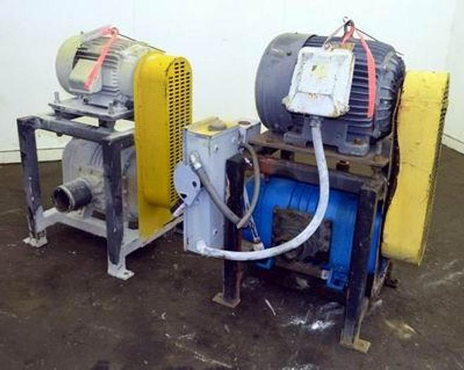 Used Positive Displacement Blower Push & Pull System