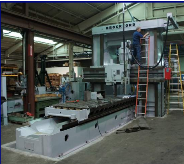 Rockford double housing adjustable rail milling machine